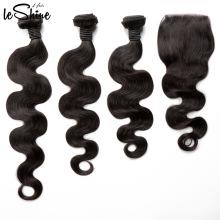 ENVÍO GRATIS Body Wave venta al por mayor cutícula virgen sin procesar alineado cabello humano brasileño tejido de Brasil
