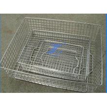 Нержавеющая проволока сетка медицинское оборудование корзины зависит от типа