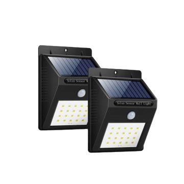 New Arrival Super Bright Waterproof Outdoor Led Solar Sensor Wall Light For Garden, Garage, Pathway
