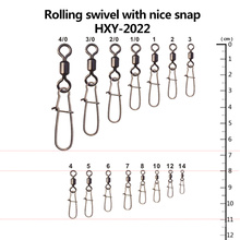High Quality Rolling Swivel with Nice Snap