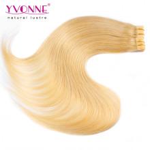 Usine prix couleur # 613 PU Extension de cheveux de trame de peau