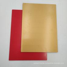 Gold Color Fire Resistance Aluminium Composite Panel