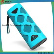 Alto-falante Bluetooth portátil com microfone embutido (azul)