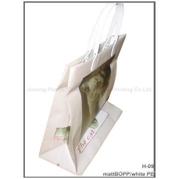 Bolsa de compras de plástico