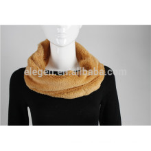 100% Polyester Solid Color Infinity Scarf
