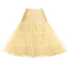 Grace Karin Tutu Petticoat Underskirt Crinoline Skirt For Wedding Vintage Dress CL008922-17