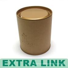 Китайский Упаковка Коробка Бесплатный Образец Изготовленный На Заказ Логос Напечатал Круглая Бумажная Пробка Кофе В Зернах Упаковывая