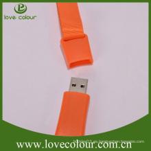Llavero del USB de la promoción popular de encargo del nuevo diseño de la fábrica