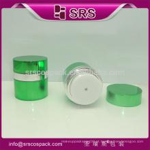 1 OZ Frasco único, embalagem de frasco de creme cosmético plástico, face creme de creme de branqueamento