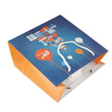 Custom Colorful Fancy Design Shopping Kraft Paper Bag