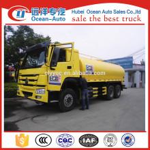 SINOTRUK HOWO 20000 liters water storage tank truck