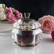 Frasco de perfume 3ml de cristal tradicional para o presente e a decoração