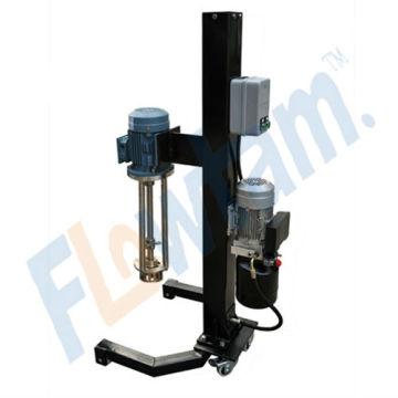 Emulsifiants à fort cisaillement avec ascenseur hydraulique amovible assuré en qualité