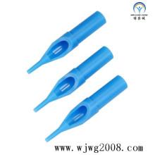 Disposable Tattoo Plastic Short Tips--50mm (blue)