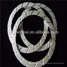 roda de diamante para pastilha de freio forro de freio