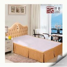 Popular cama saia para hotel usando