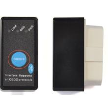 Bus Elm327 Bluetooth com poder interruptor botão OBD2 para Scanner de código de carro Android Torque