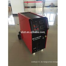 Mig-500 igbt inverter co2 mig schweißmaschine mit eingebautem panasonic wire feeder