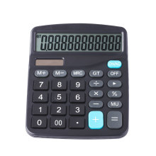 Dual Power Office Desk 12 Digit Calculator
