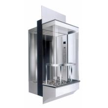 Ascenseur panoramique avec cabine carrée de 800kg (LL-021)