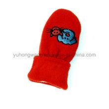 Forme a punto los guantes calientes del paño grueso polar caliente / los manoplas