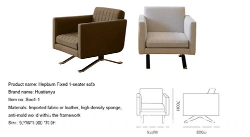 Single Sofa Armchair