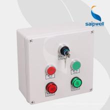 Saip Saipwell 2015 Vente chaude OEM ODM Bouton-poussoir Boîte de commande de commutateur Fabriqué en Chine Boîtier de commande électrique étanche à bouton-poussoir