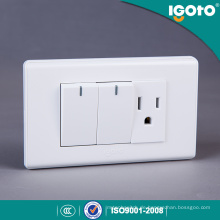 American Style Electrical 10A Schalter und Steckdose