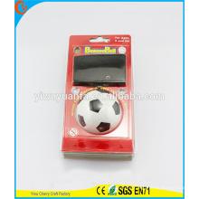 Novelty Design Kid's Toy White Soccer Wrist Hi Rubber Bounce Ball