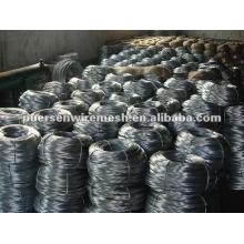 Arame de aço galvanizado brilhante - fábrica
