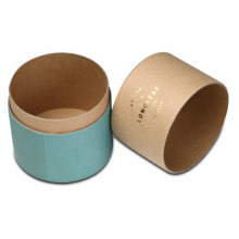 Kraft Cylinder Packaging Tub för Essential Oil
