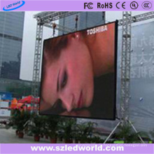 P10 Открытый прокат полного цвета заливки формы экран дисплея Афиши СИД фабрики Китая