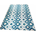 Modern Design Bule Color Carpet