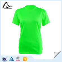 Neon Color T-Shirts Haute Qualité Plain Running Wear