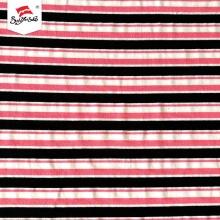 HygroscopicityJersey Knit Stripe Spandex Cotton Fabric