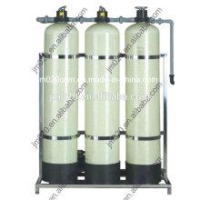 Filtro de água de controle manual para sistema de tratamento de água