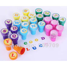 Farbplastikgriff-Spielzeug-Tintenfarbestempel für Kinder