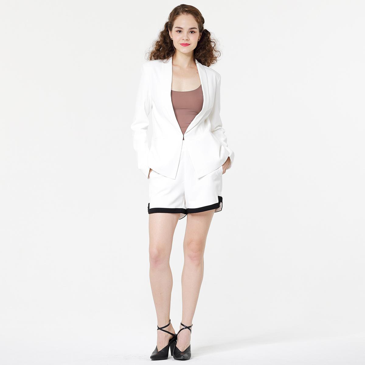 Lady's suit Blazer shorts