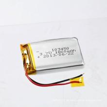 Nachladbare Li-Po Batterie 3.7V 1800mAh 103450 Li-Polymer Batterie Lithium-Batterie