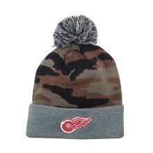 Chapeau Bonnet Camo Tricoté d'hiver de haute qualité avec logo personnalisé