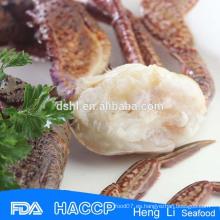HL003 Nutrición rica al por mayor de mariscos congelados Cangrejo Negro