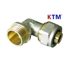 Brass Pipe Fitting - Male Elbow