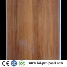 25cm 7mm Hotstamp Wood Pattern PVC Panel PVC Ceiling Hotselling in Algeria