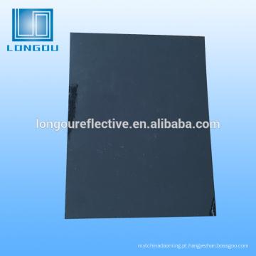 material de fita de segurança reflexivo preto
