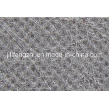 Tissu non-tissé de fibre d'agrafe de polyester / polypropylène