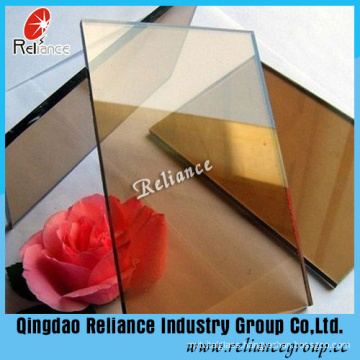 5mm Golden Bronze Reflective Glass for Decoration