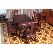 High-End 7Set Siam Palisander Esstisch mit Ming-Stil