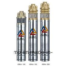 """4"""" Inch Brass Impeller Submersible Deep Well Water Pump (4SKm100)"""