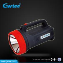 Projecteur rechargeable GT-8516 à longue portée, projecteur militaire en plastique