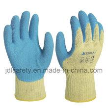 Тепла защитные перчатки с покрытием из латекса (LK3022)